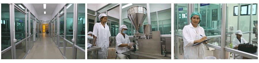 การควบคุมมาตรฐานการผลิต อาหารเสริมต้านมะเร็ง