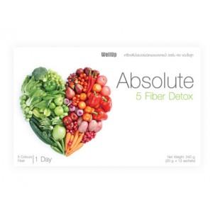 ผลิตภัณฑ์อาหารเสริม ดีท็อกซ์ Absolute Detox ลดความอ้วน
