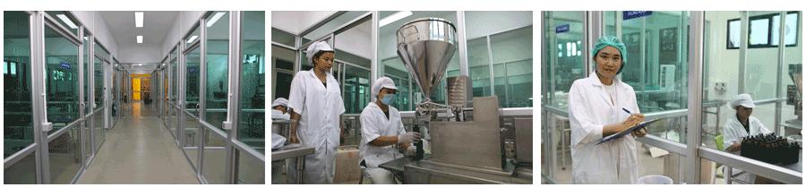 ควบคุมมาตรฐานโรงงานรับผลิตอาหารเสริม และเครื่องสำอาง
